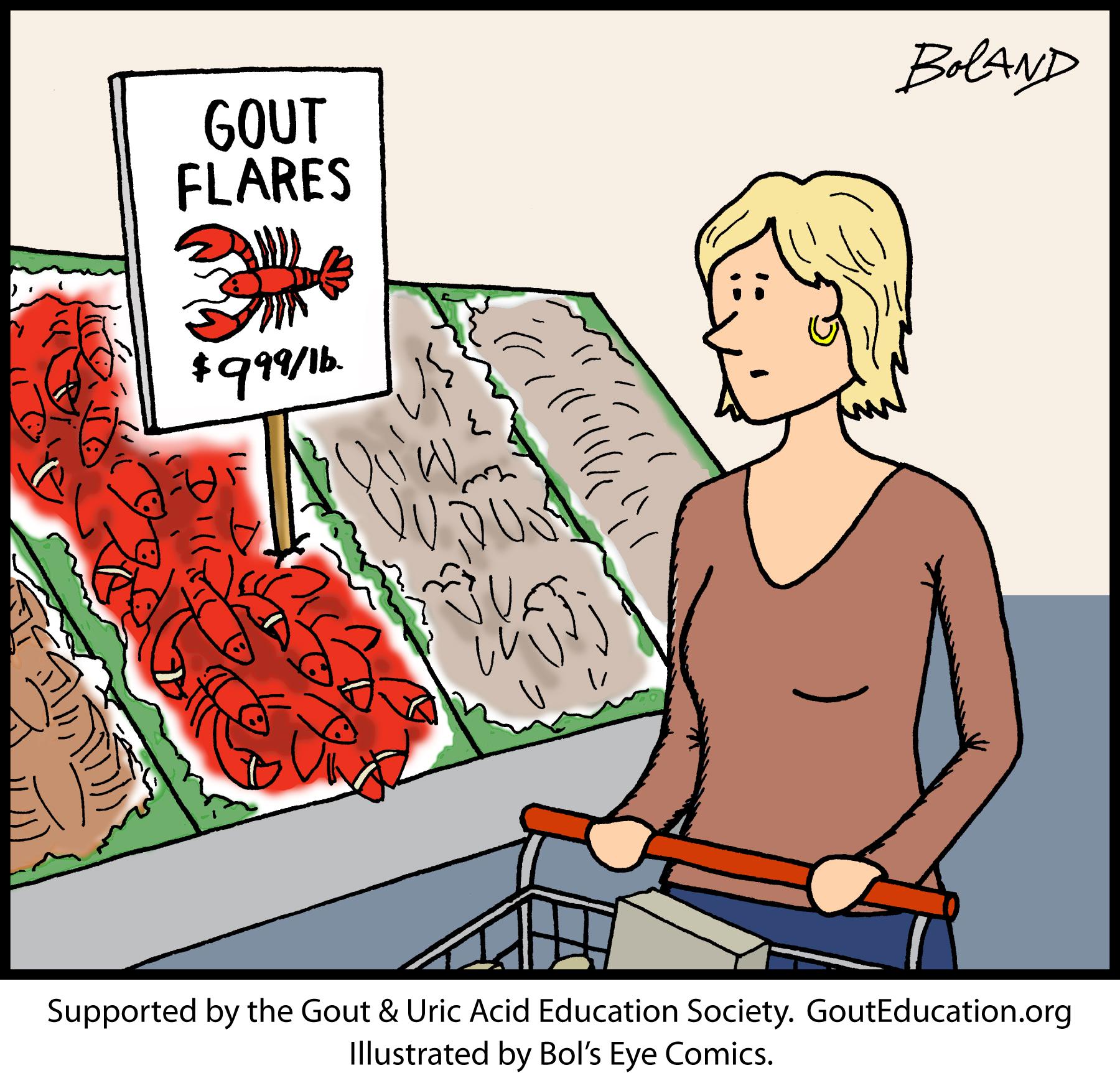 Gout Cartoons For Medical Professionals